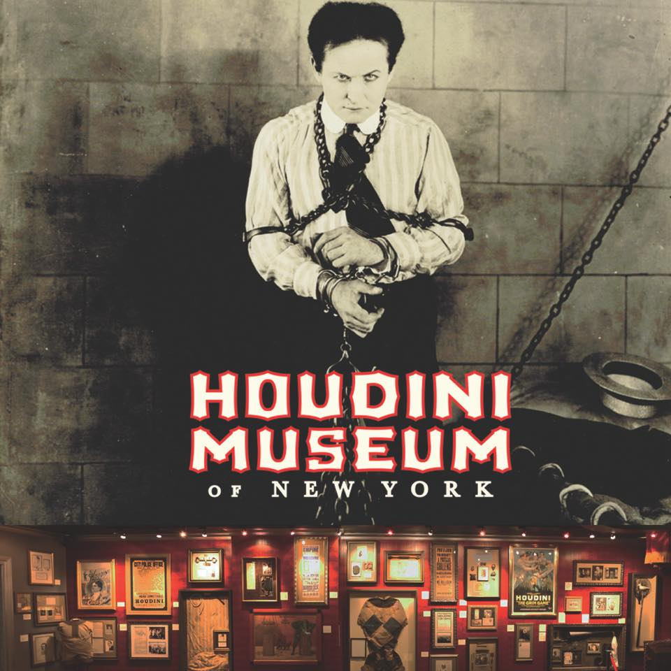 Curiosities Our Bucket Lists 5 Offbeat Museums NYC Harry Houdini