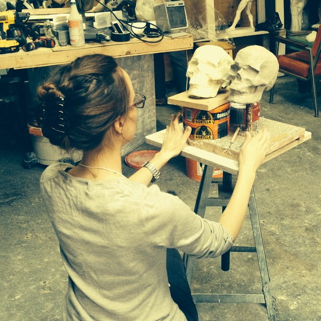 Curiosities Our Bucket Lists 7 Best Places For Art Lovers LIC Grand Central Atelier Skulls