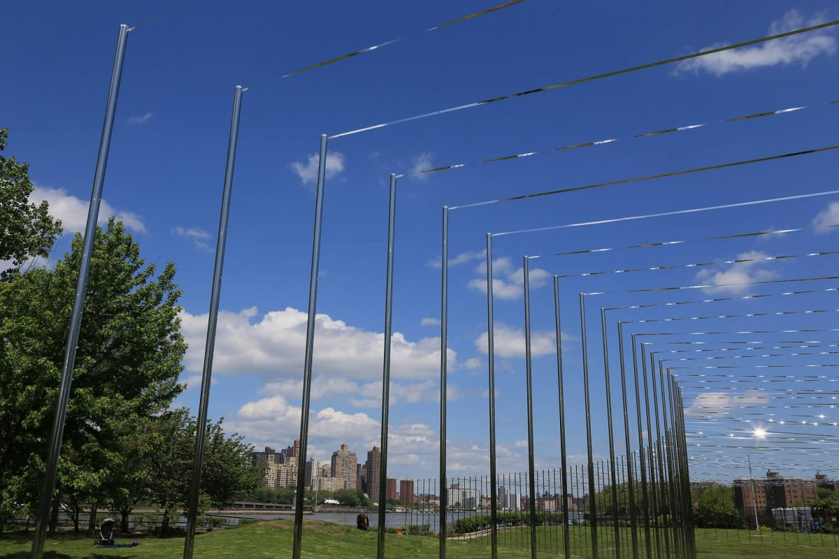 Curiosities Our Bucket Lists 7 Best Places For Art Lovers LIC Socrates Sculpture Park Silver