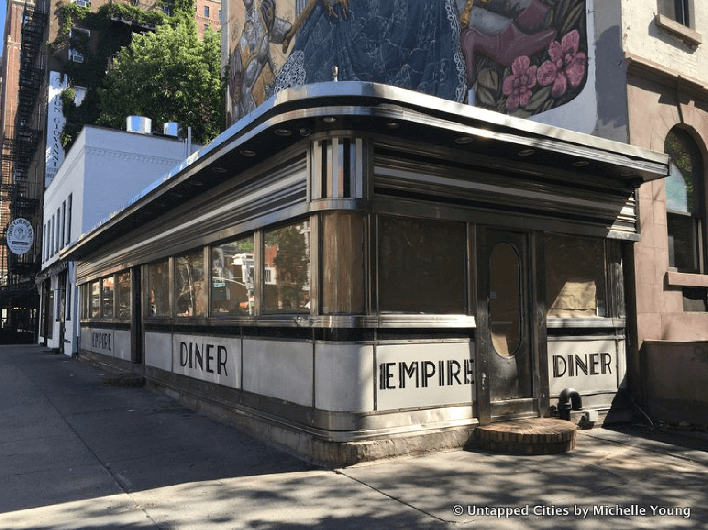 Curiosity City Secrets Empire Diner by Untapped Cities