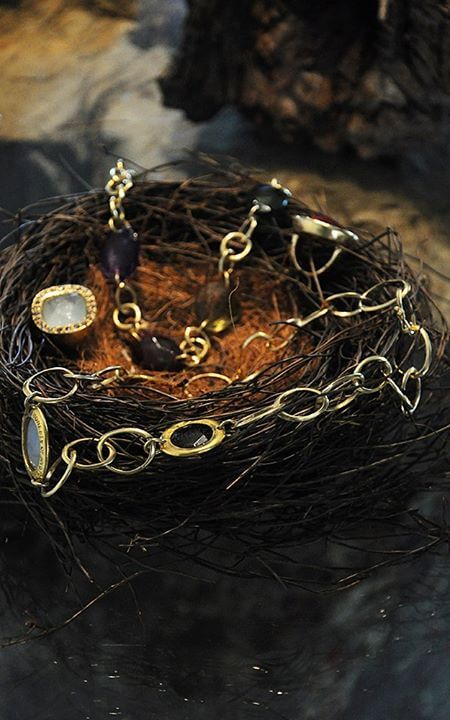 Ladies Aurora Lopes Mejia Jewelry Necklace Nest