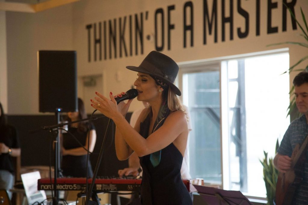 Our Experts Recaps BTSNYC Experience Aline Muniz Yaguara WeWork Aline Singing