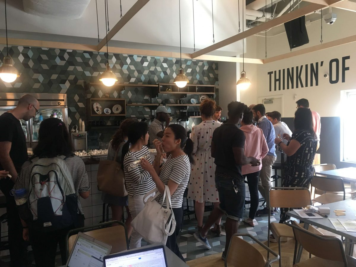 Our Experts Recaps BTSNYC Experience Aline Muniz Yaguara WeWork Full Bar