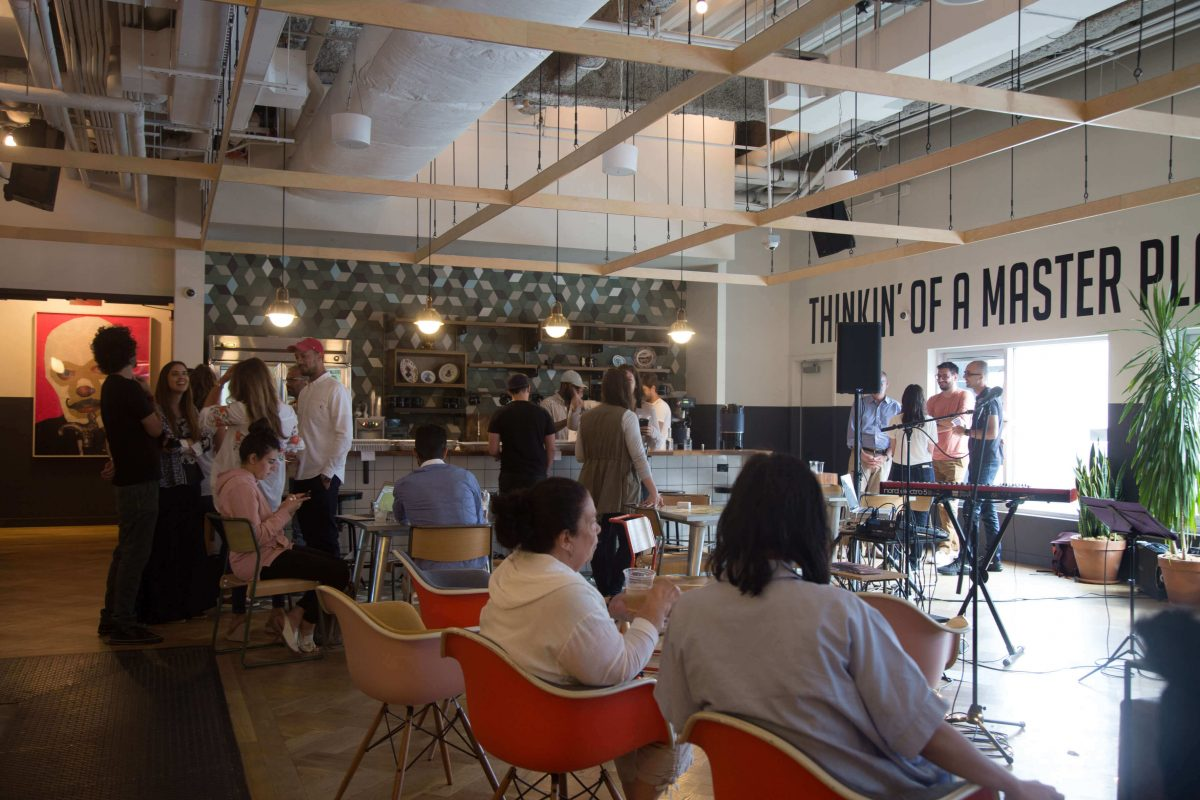 Our Experts Recaps BTSNYC Experience Aline Muniz Yaguara WeWork Guests
