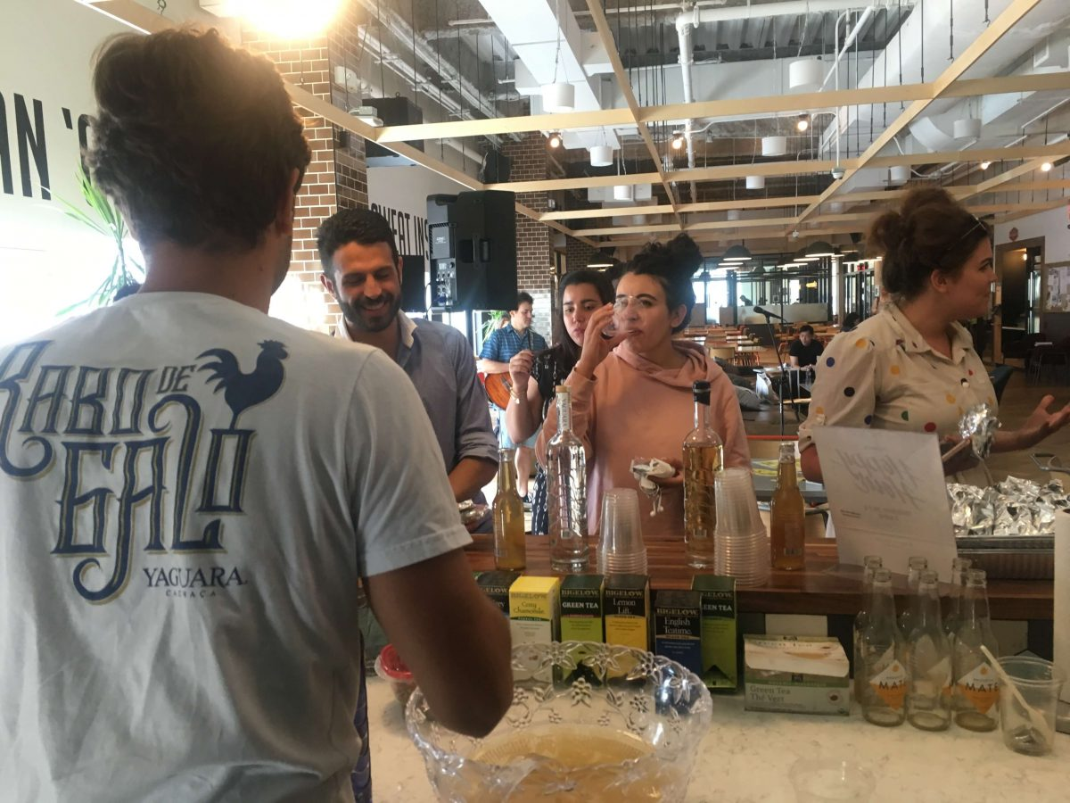 Our Experts Recaps BTSNYC Experience Aline Muniz Yaguara WeWork Tasting