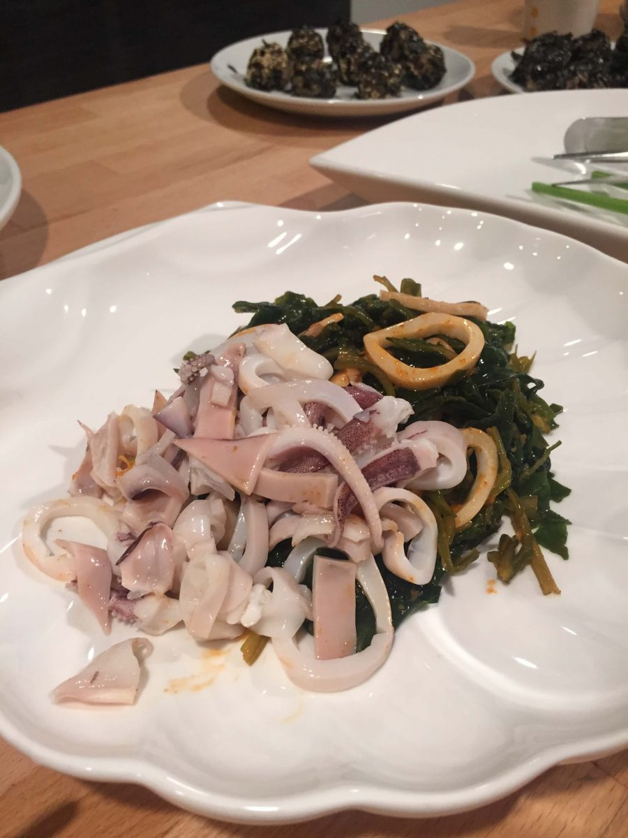Our Experts Recaps Banchan Story Sea Veggie Cooking Class Calamari