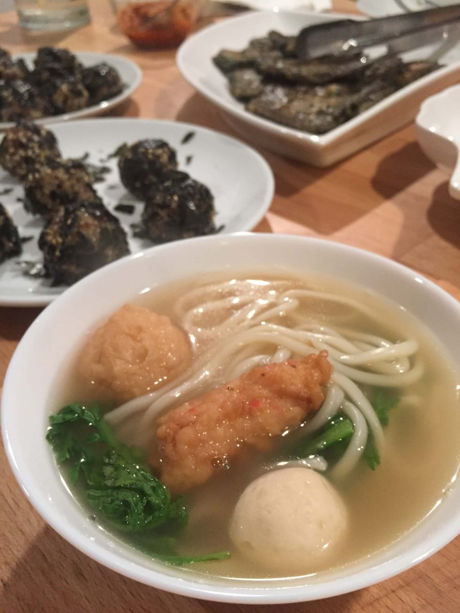 Our Experts Recaps Banchan Story Sea Veggie Cooking Class Noddles