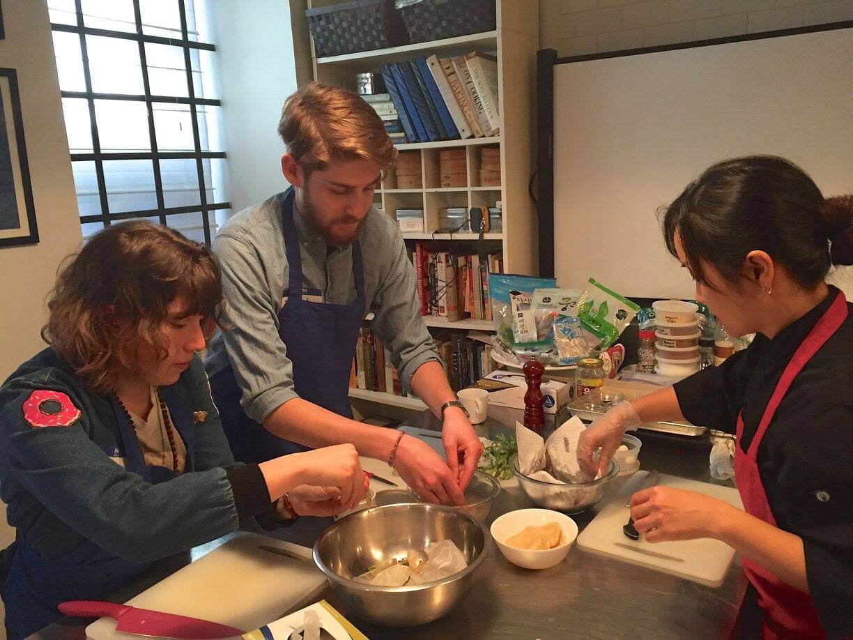 Our Experts Recaps Banchan Story Sea Veggie Cooking Class Students