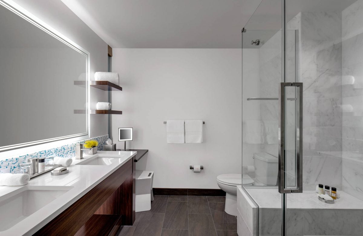 Our Experts Recaps Denver The Art Hotel Bathroom