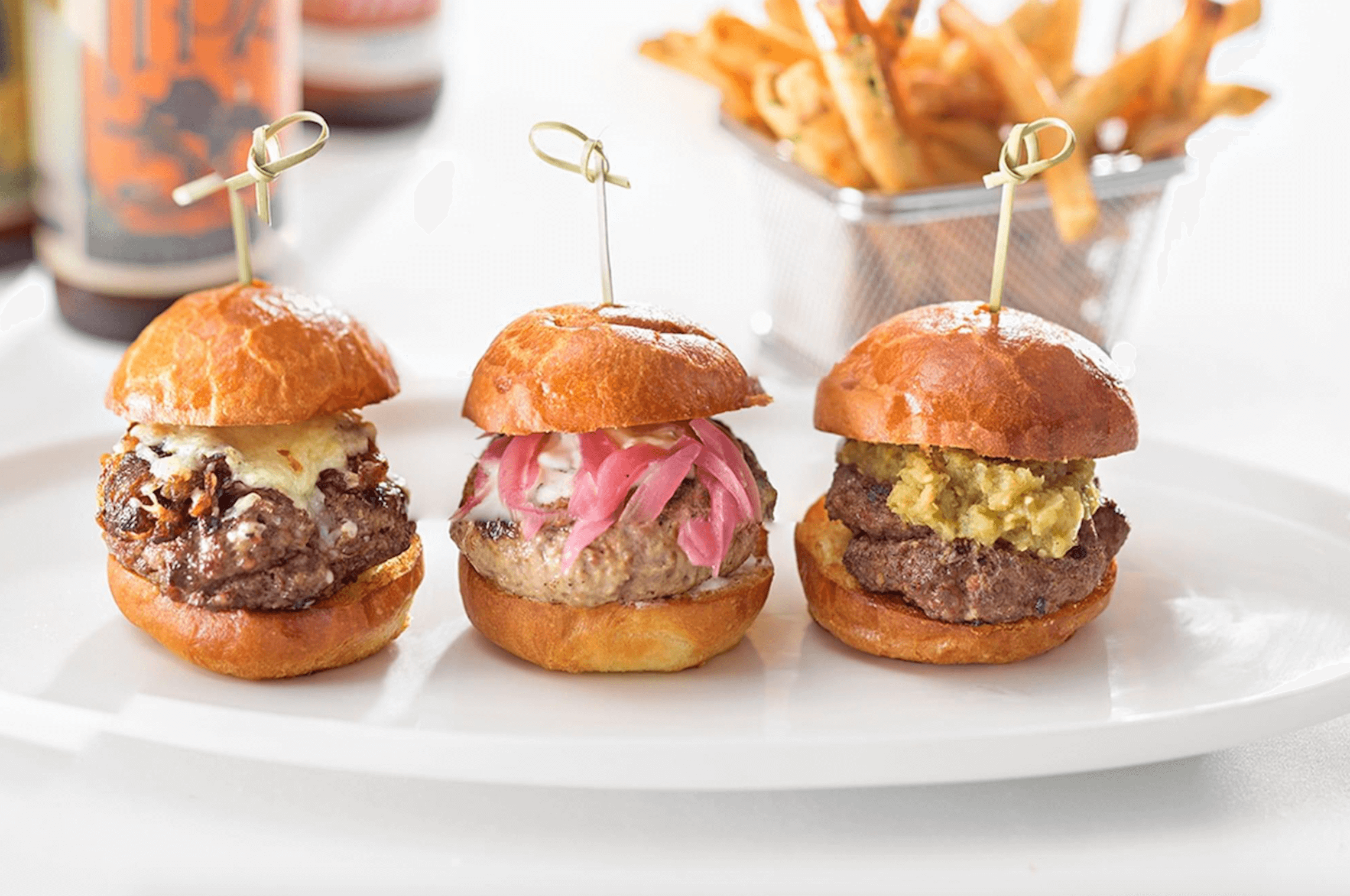 Our Experts Recaps Denver The Art Hotel Restaurant Mini Burgers