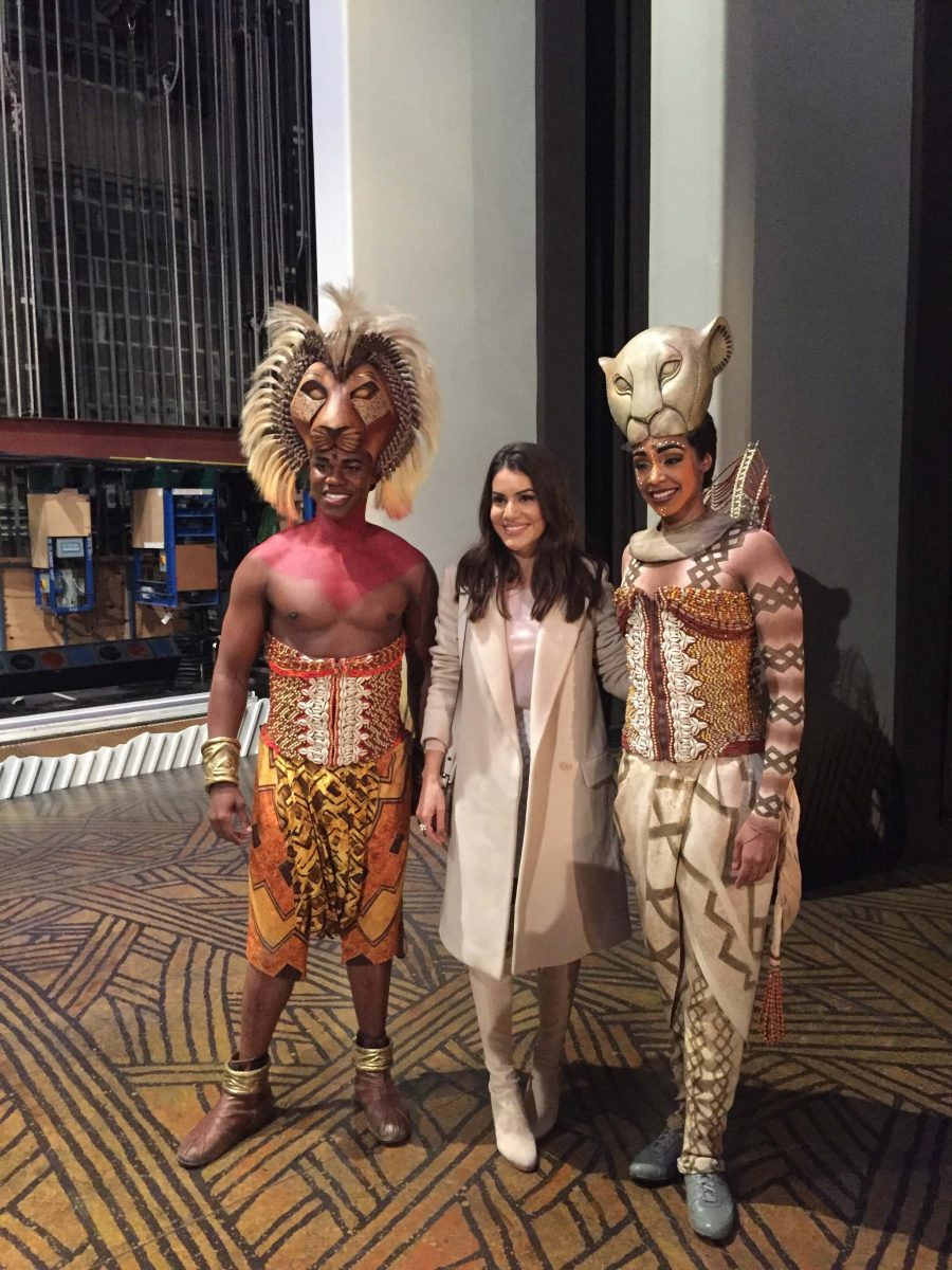 Our Experts Recaps Lion King Backstage Meet and Greet FHits Brazilian Bloggers Camila Coelho