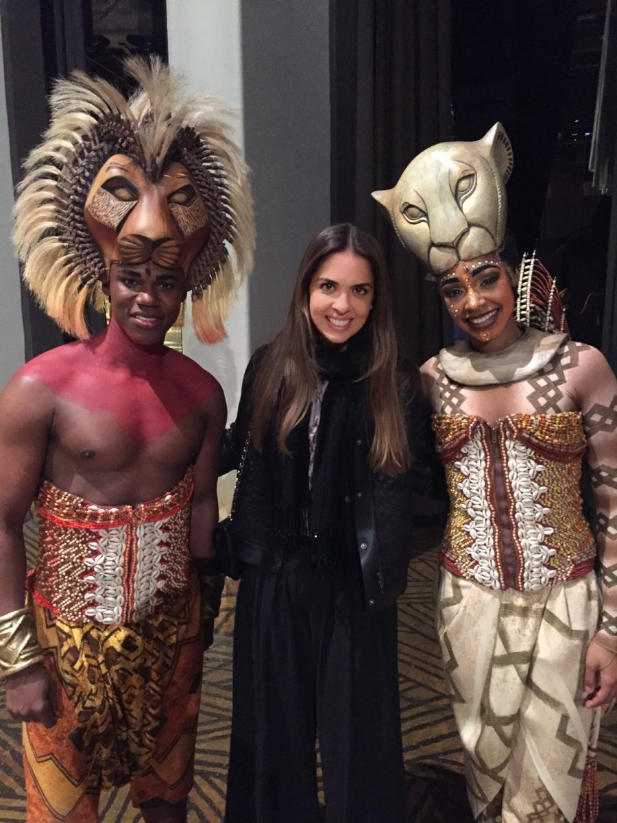 Our Experts Recaps Lion King Backstage Meet and Greet FHits Brazilian Bloggers Fernanda Paronetto