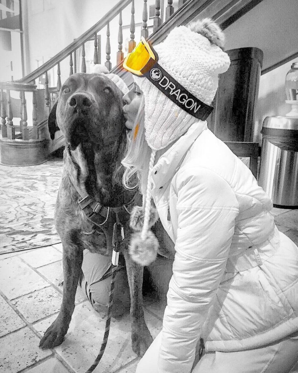 Our Experts Recaps Vail Bling Blings Carol Tognon and Dog