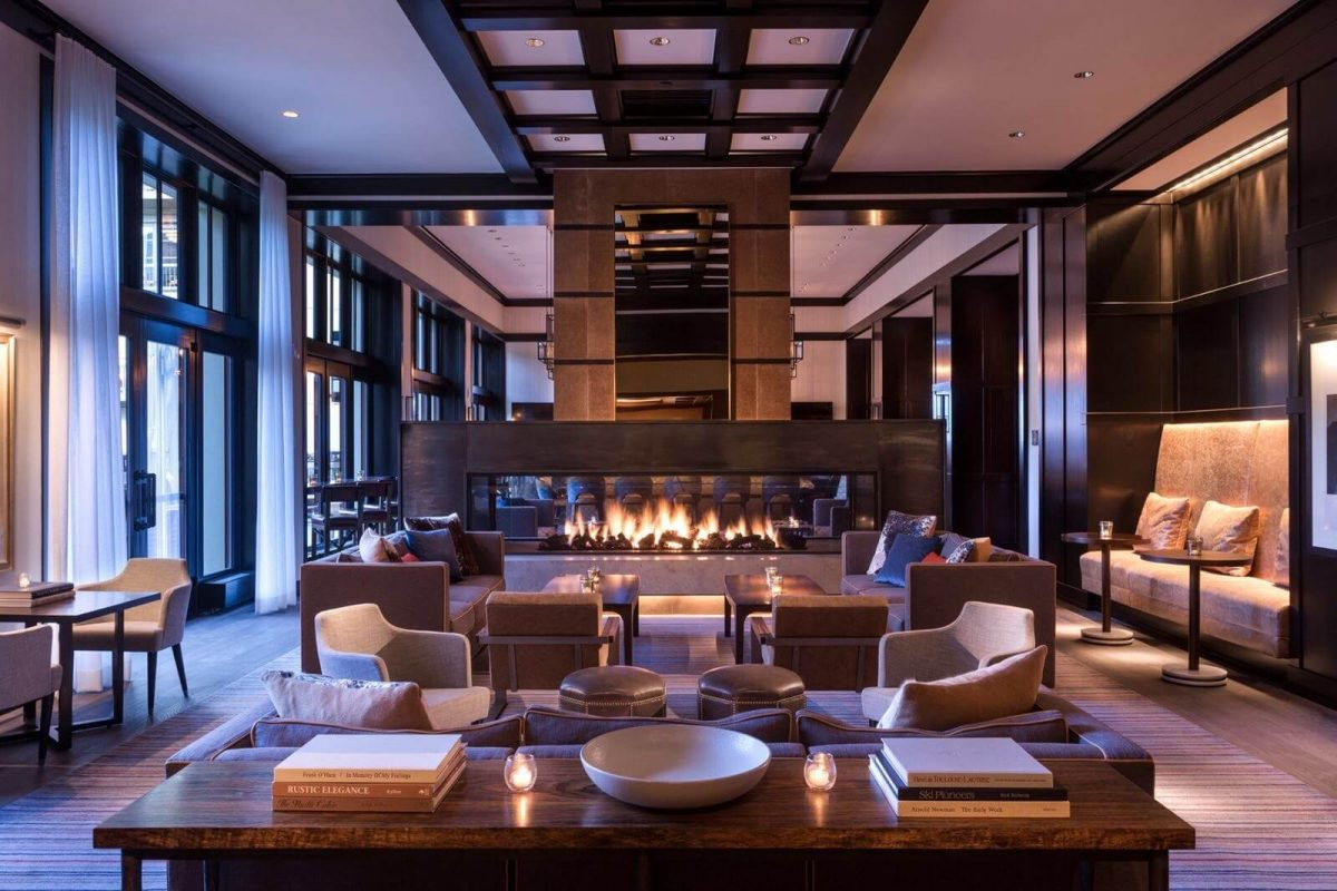 Our Experts Recaps Vail Four Seasons Hotel Fireplace