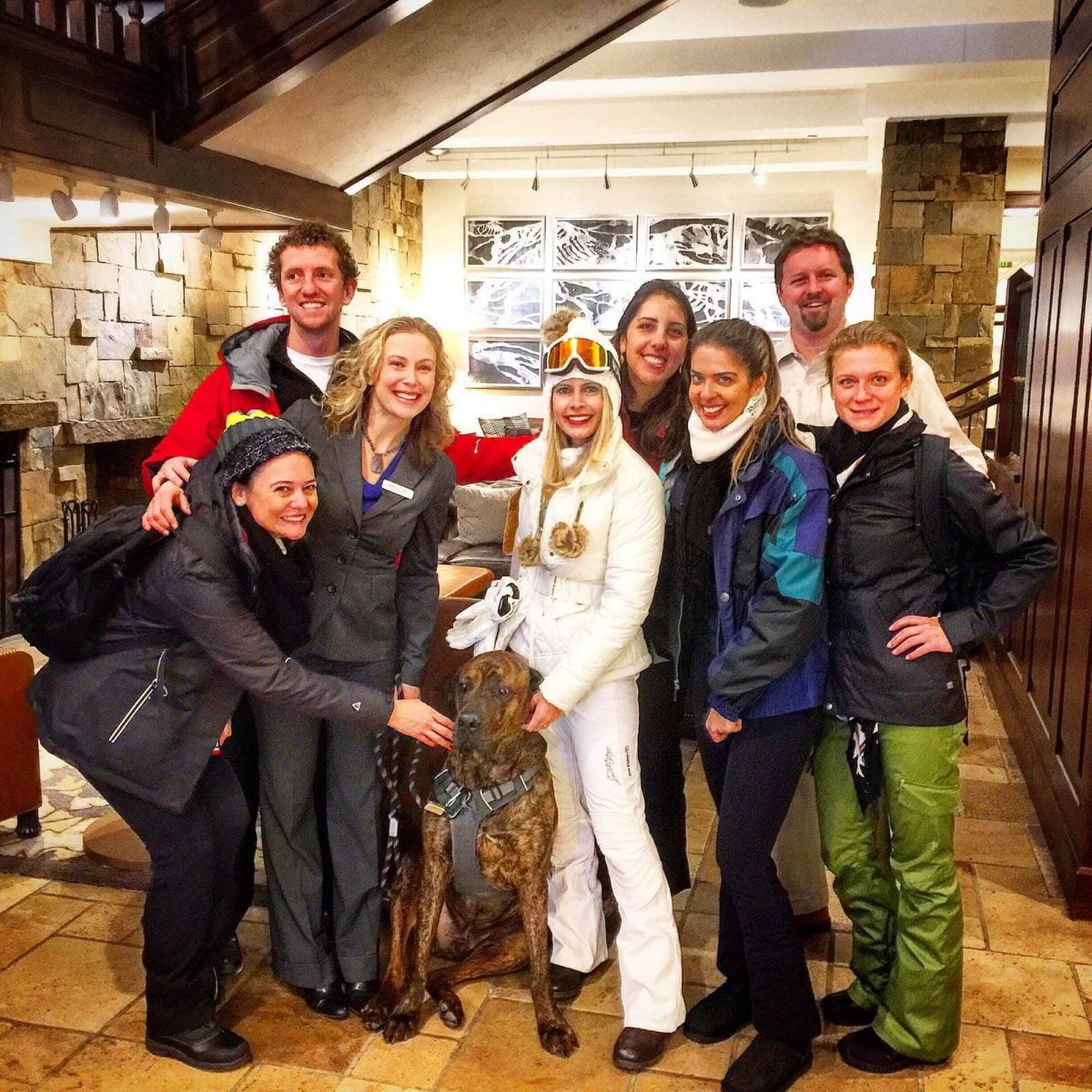 Our Experts Recaps Vail Group Shot Inside Hotel