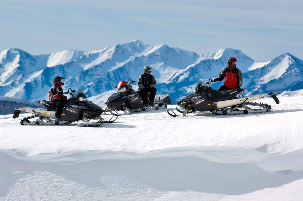 Our Experts Recaps Vail Snow Mobiling 3 People