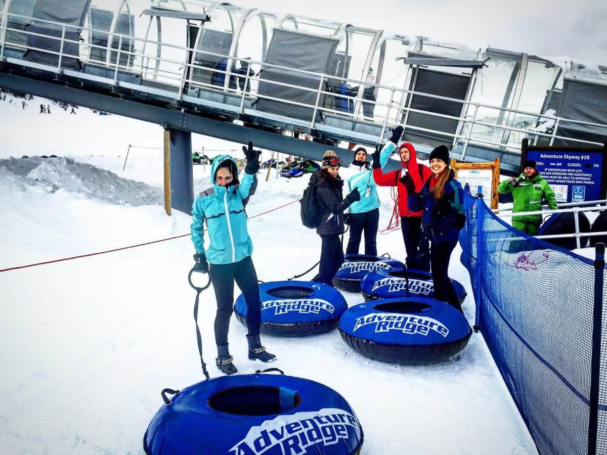 Our Experts Recaps Vail Snow Tubing Heading Up