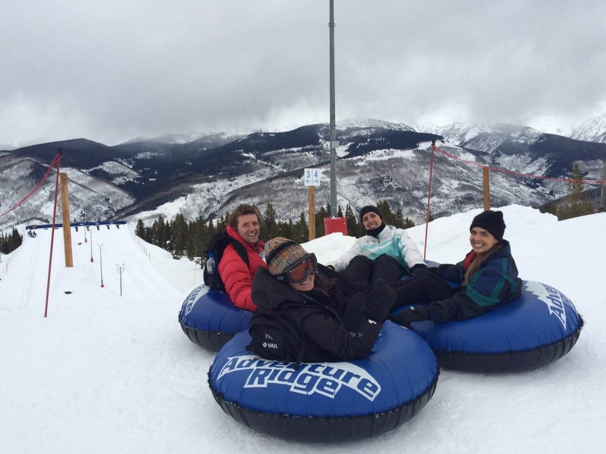 Our Experts Recaps Vail Snow Tubing Sliding Down