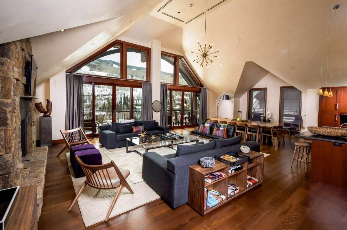 Our Experts Recaps Vail Solaris Residences Penthouse Livingroom