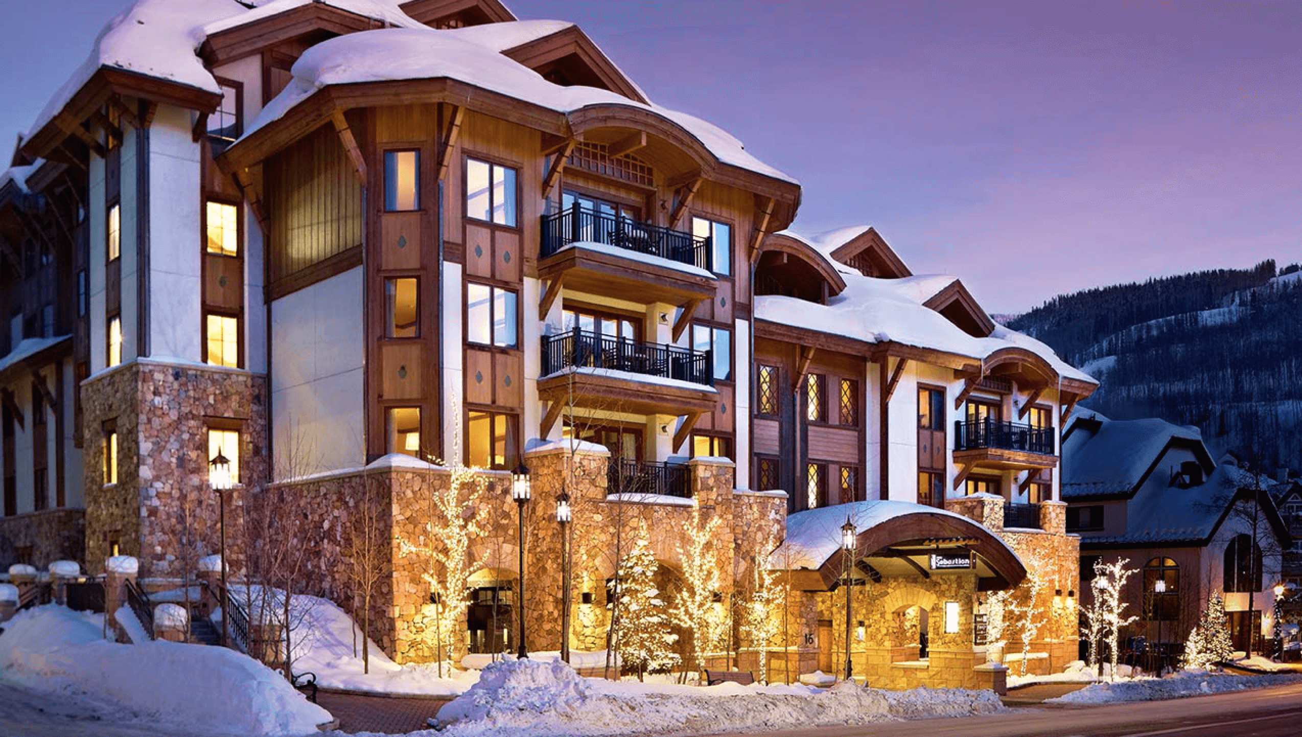 Our Experts Recaps Vail The Sebastian Hotel Façade