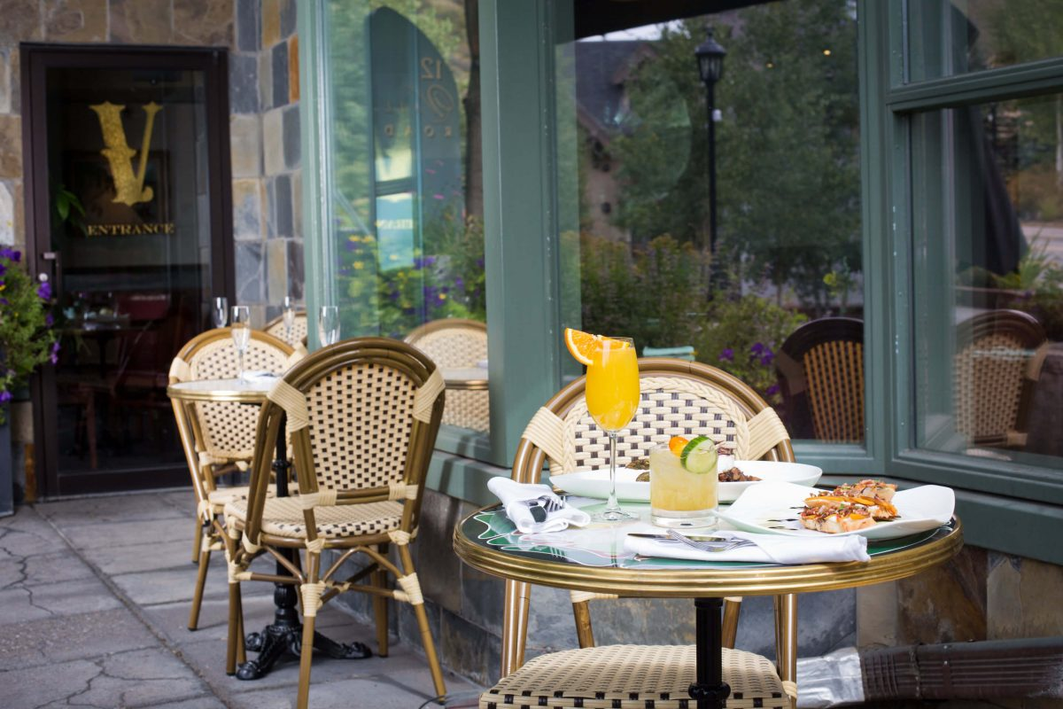 Our Experts Recaps Vail Vintage Vail Restaurant by David Gilette Outdoor Area