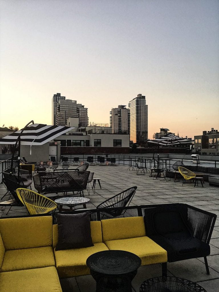Our Experts Recaps WeWork Williamsburg Rooftop Space Sunset