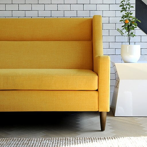 Shop Home and Kids AandG Merch Yellow Sofa