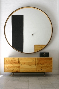 Shop Home and Kids BDDW Furniture Round Mirror