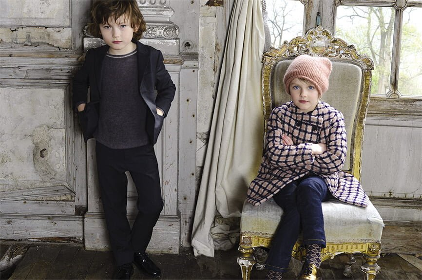 Shop Home and Kids Bonpoint Plaid Coat