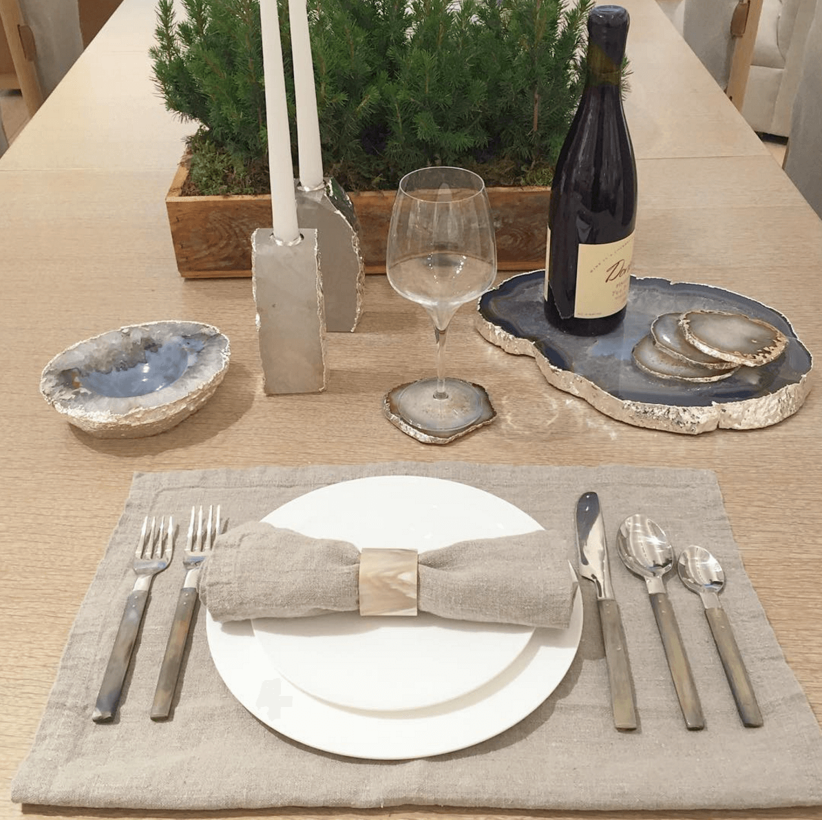 Shop Home and Kids Home Nature Table Setting