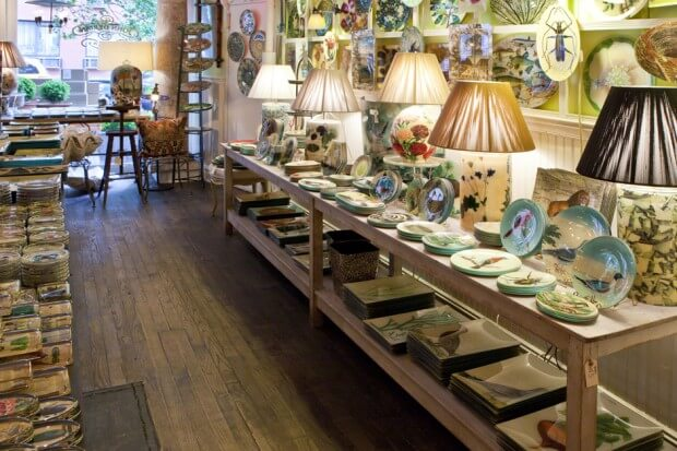 Shop Home and Kids John Derian Company Inside Store