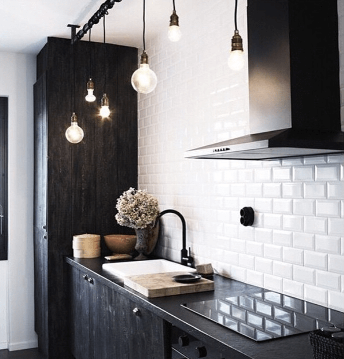 Shop Home and Kids Just Bulbs Black Kitchen