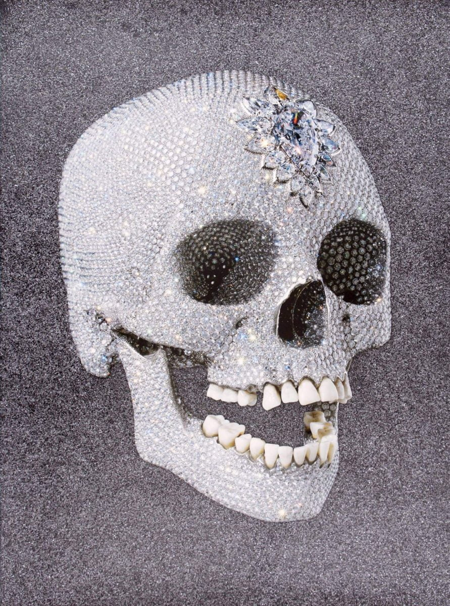 Shop Home and Kids Other Criteria Damien Hirst Diamond Skull
