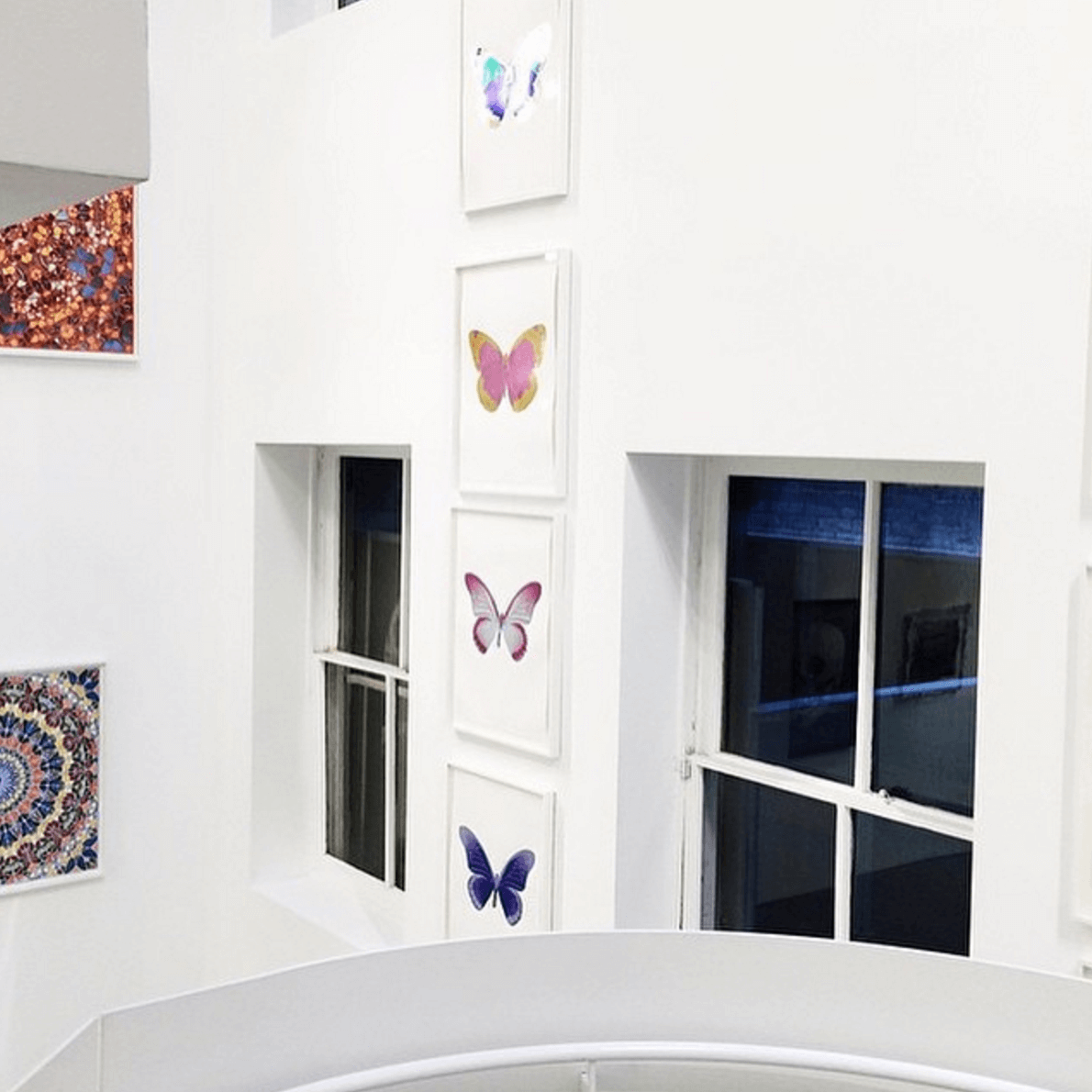 Shop Home and Kids Other Criteria Damien Hirst Single Butterfly Prints