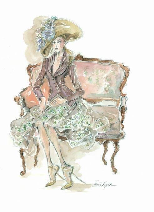 Shop Ladies Maggie Norris Couture Atelier Color Sketch