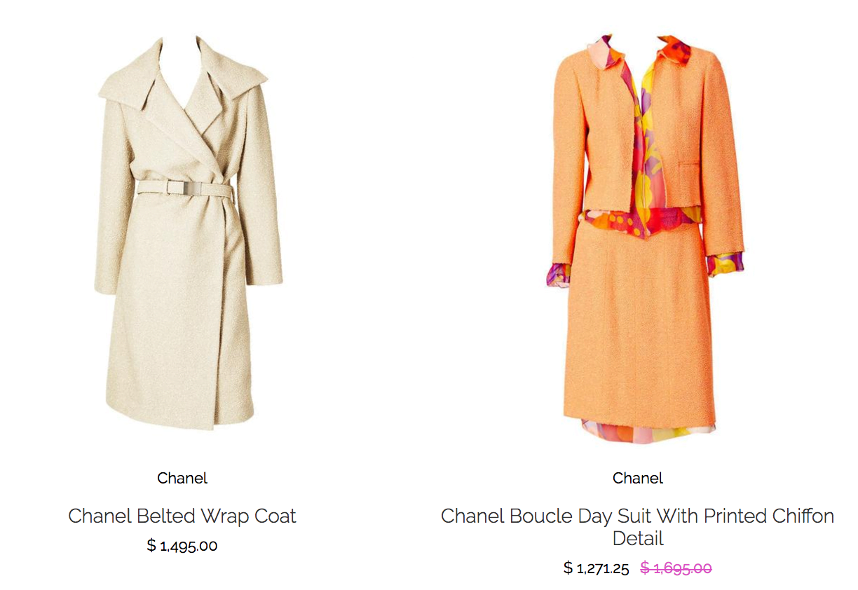 Shop Ladies Marlene Wetherell Vintage Chanel