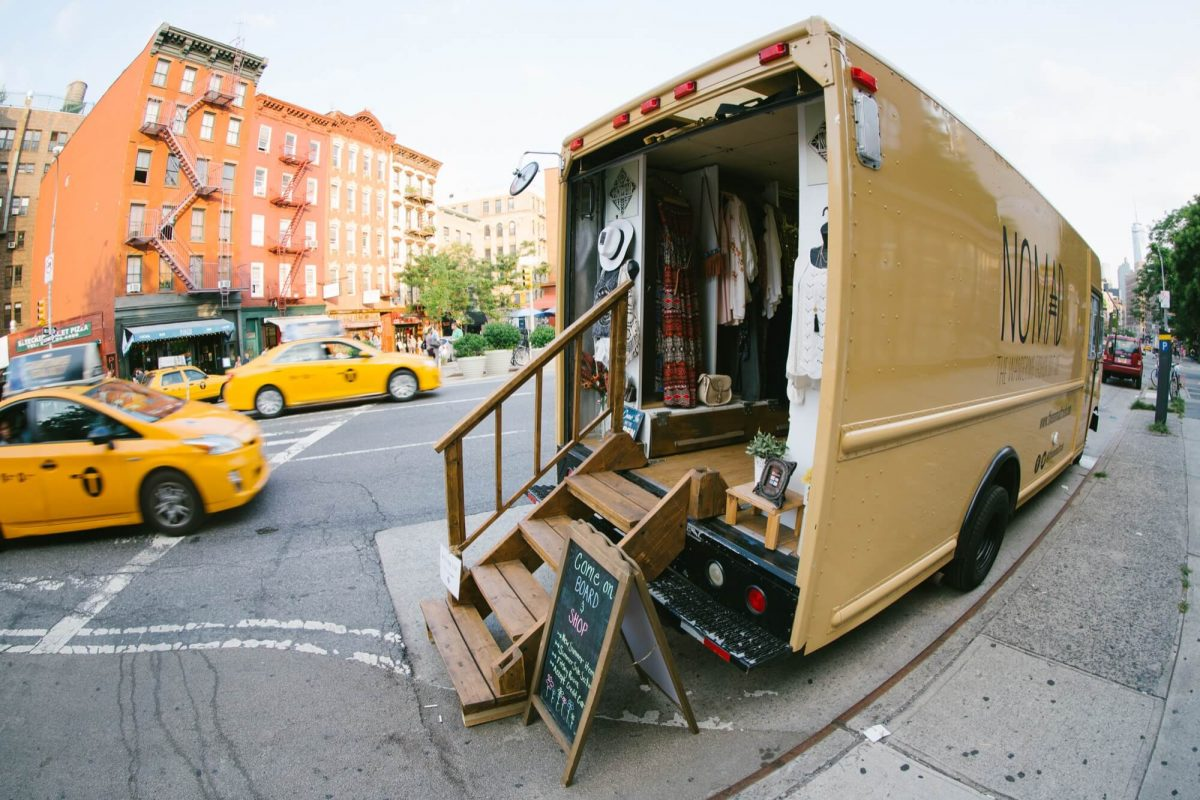 Shop Ladies Nomad Truck NYC Streets
