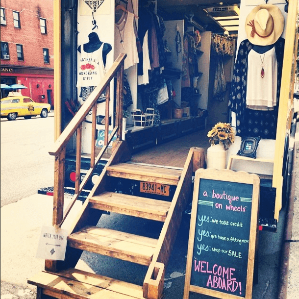 Shop Ladies Nomad Truck NYC