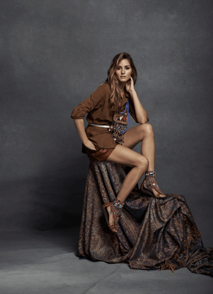 Shop Ladies Pikolinos Maasai Project Charity Olivia Palermo Campaign Pose