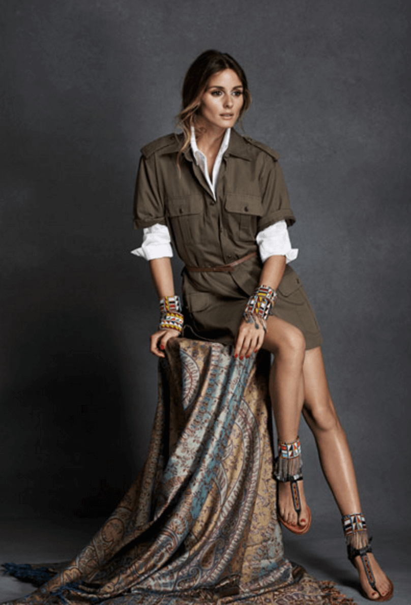 Shop Ladies Pikolinos Maasai Project Charity Olivia Palermo Campaign Safari