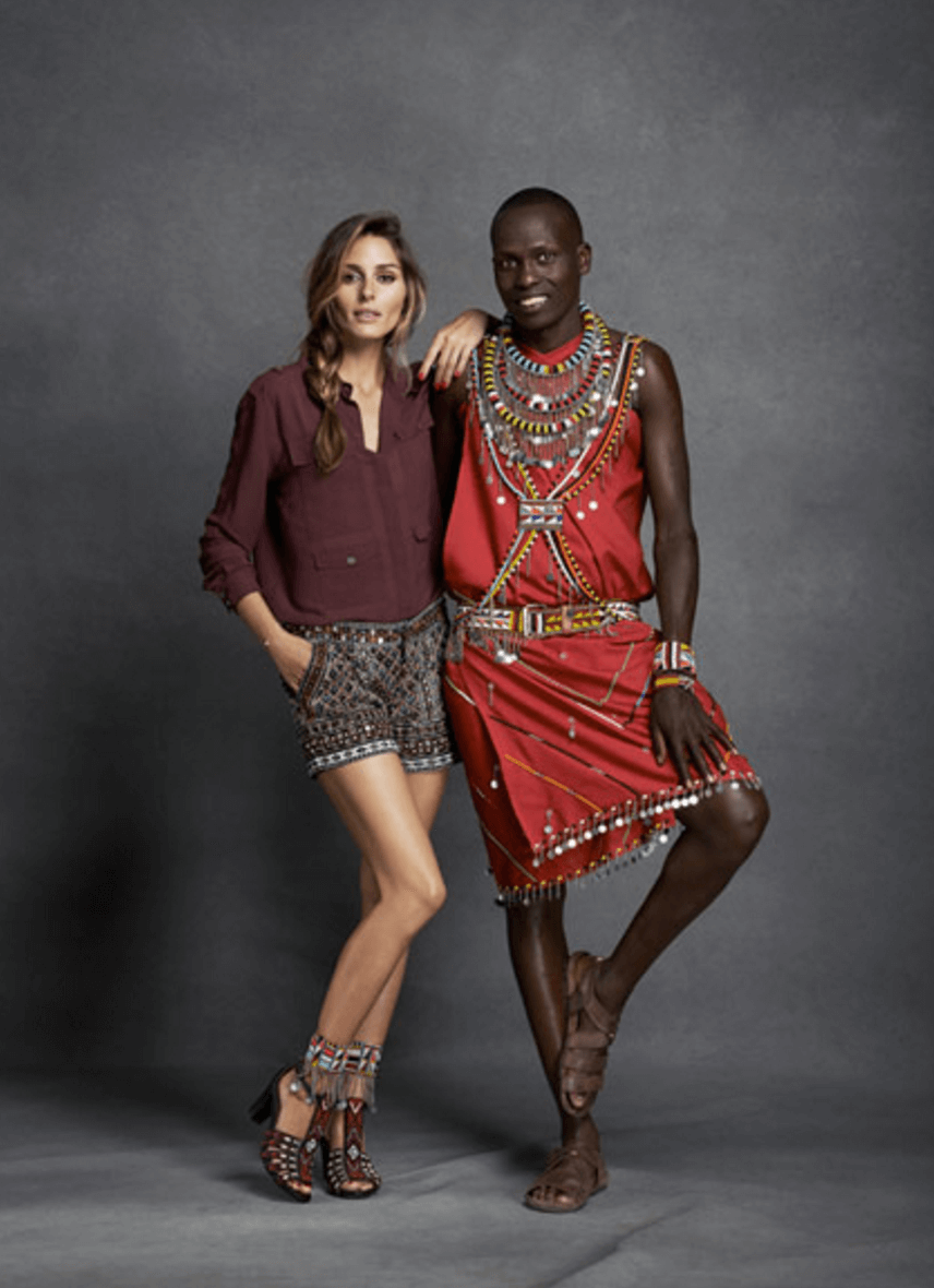 Shop Ladies Pikolinos Maasai Project Charity Olivia Palermo Campaign