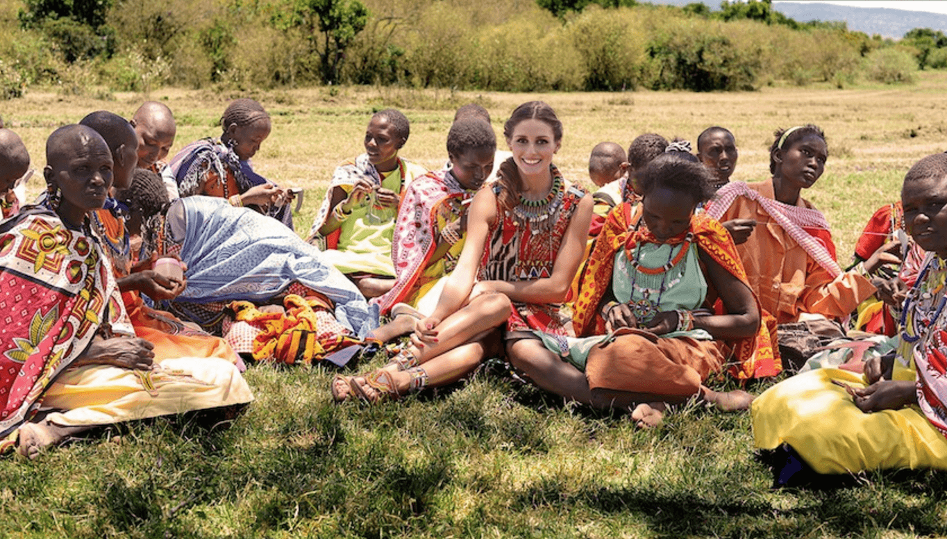 Shop Ladies Pikolinos Maasai Project Charity Olivia Palermo On Grass