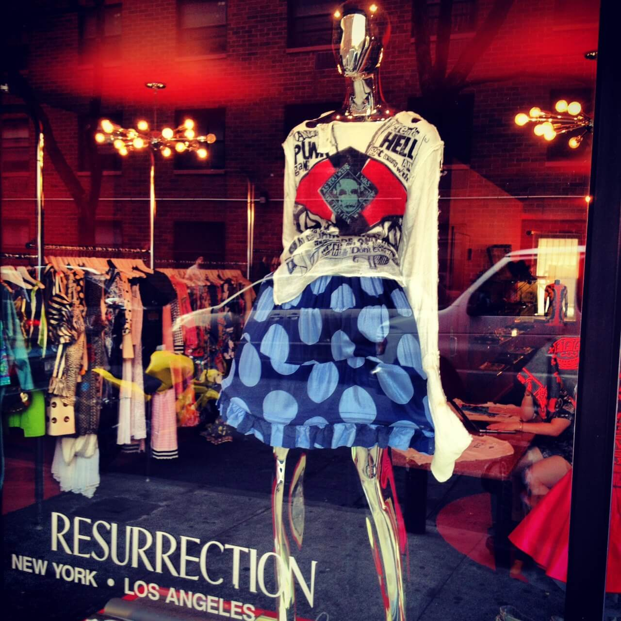 Shop Ladies Resurrection Window