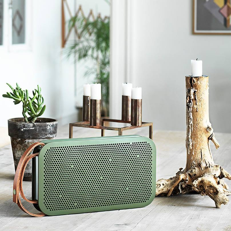 Shop Ladies and Gents Bang and Olufsen Green Sound Box