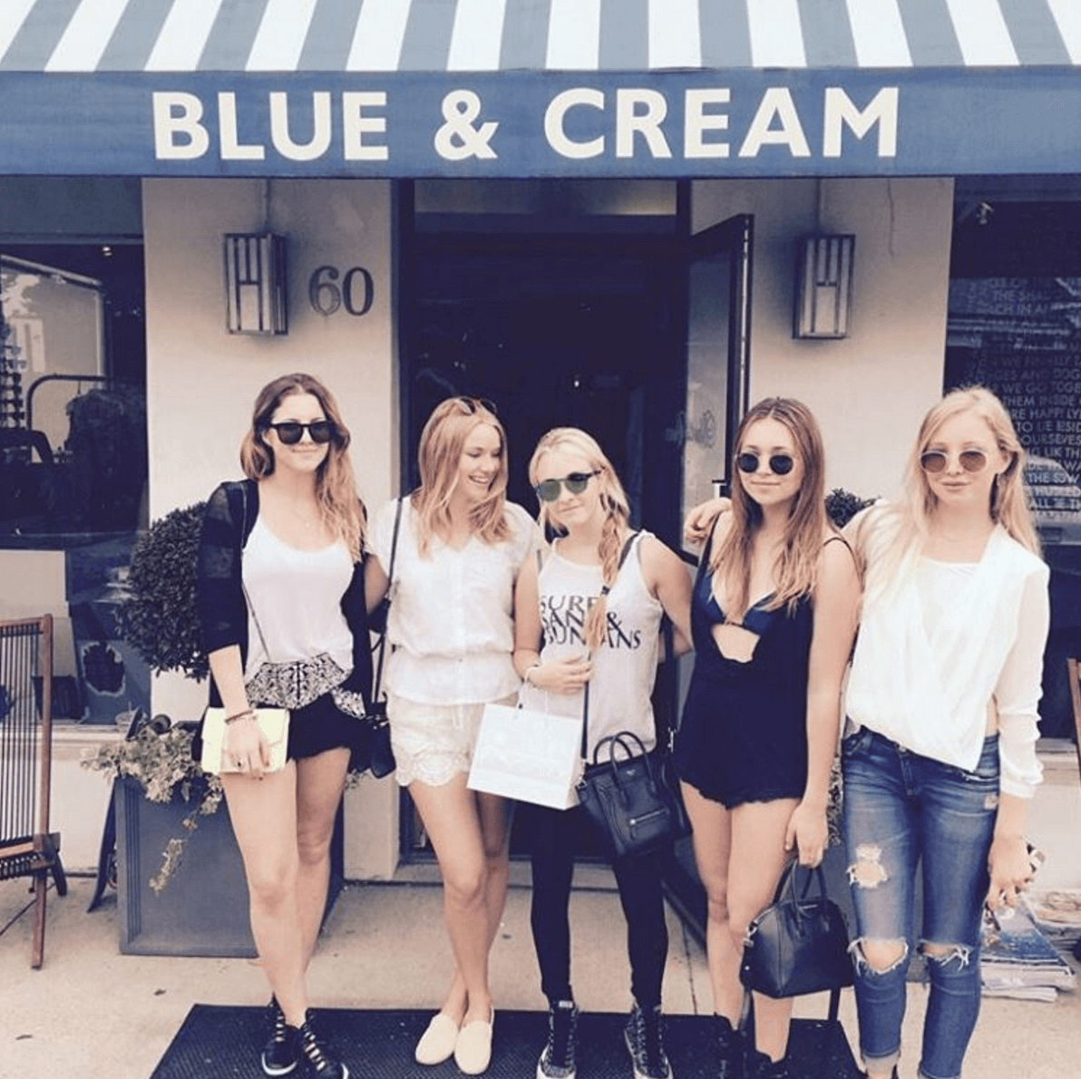 Shop Ladies and Gents Blue and Cream Hamptons Store