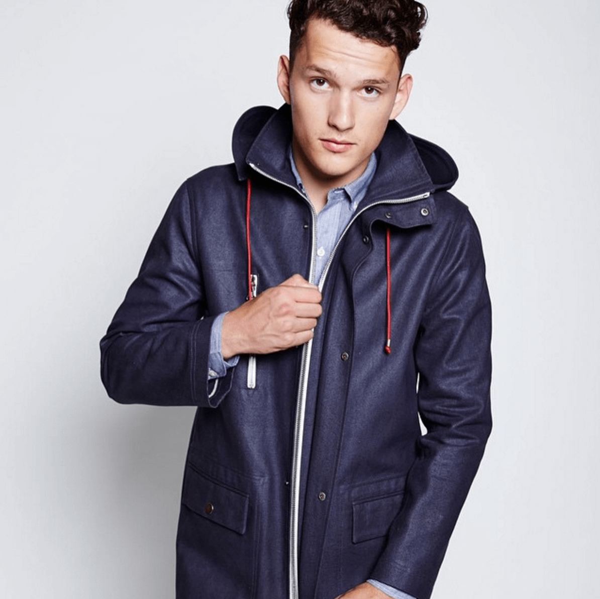 Shop Ladies and Gents Ernest Alexander Blue Coat