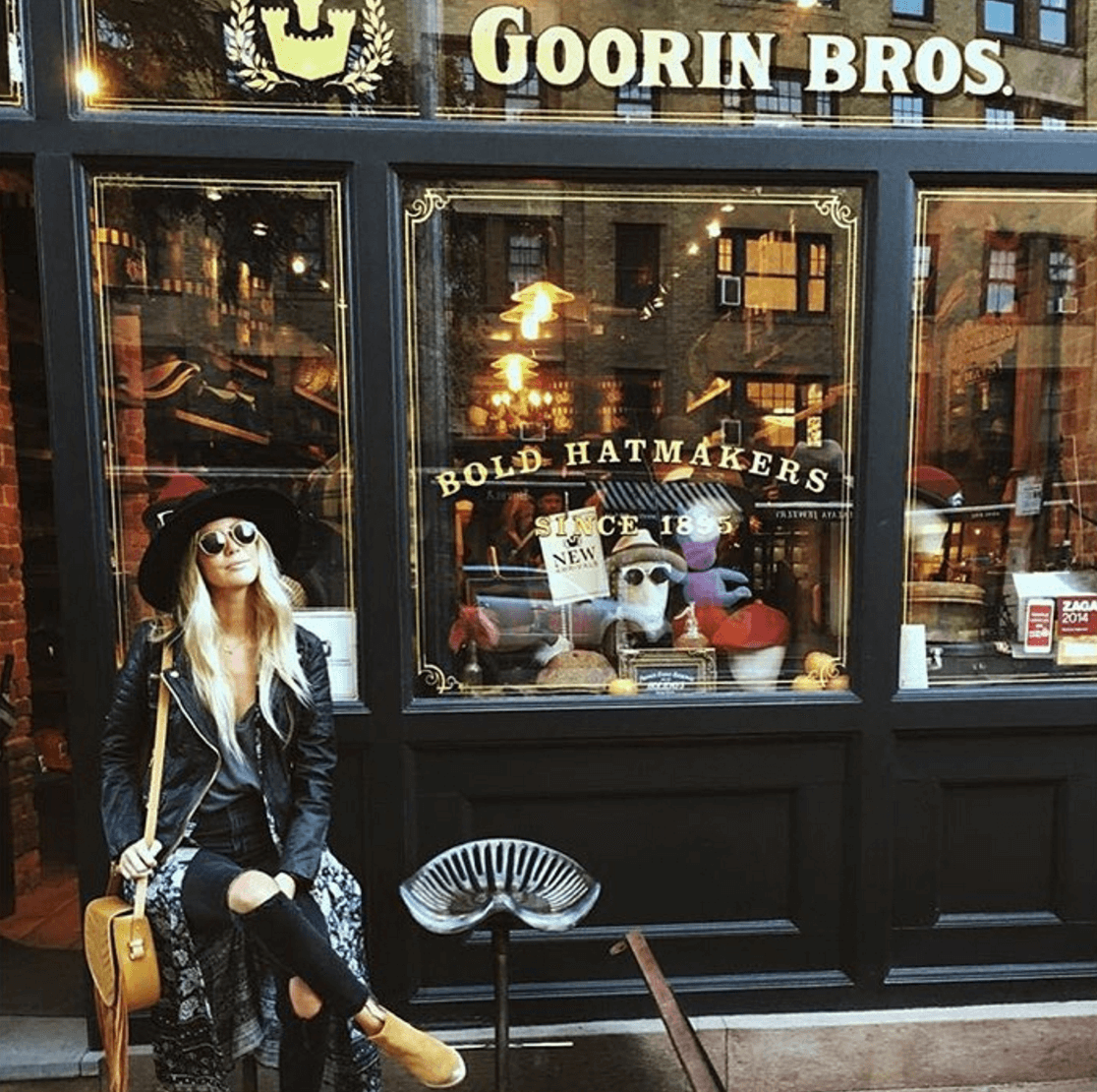 Shop Ladies and Gents Goorin Bros Façade