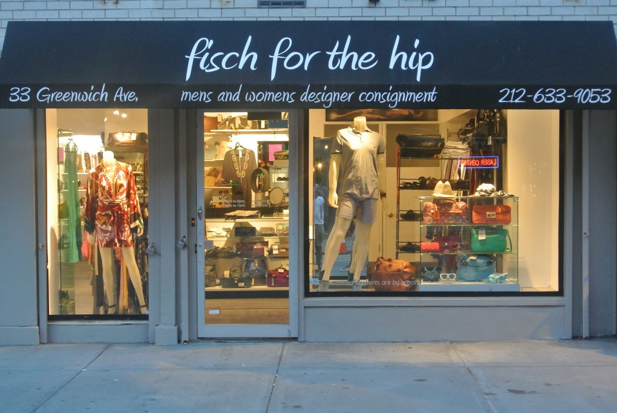 Shop Ladies and Gents Menswear Fisch for the Hip Façade