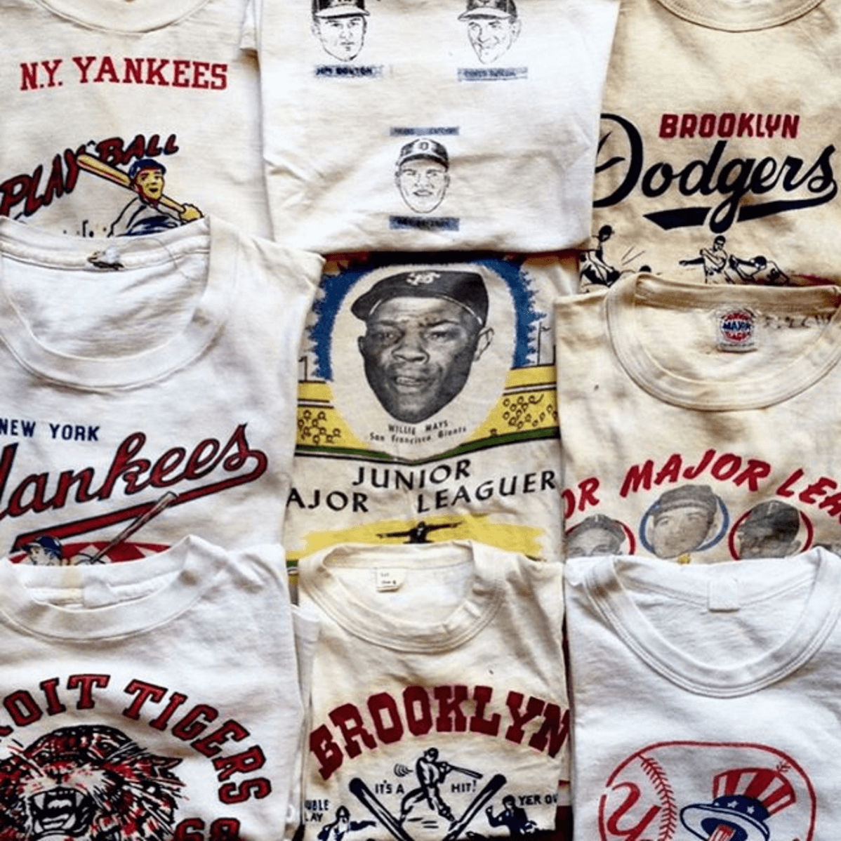 Shop Ladies and Gents Stock Vintage Tshirts