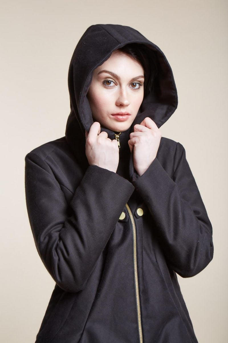 Shop Ladies and Gents Vaute Vegan Fashion Hooded Coat